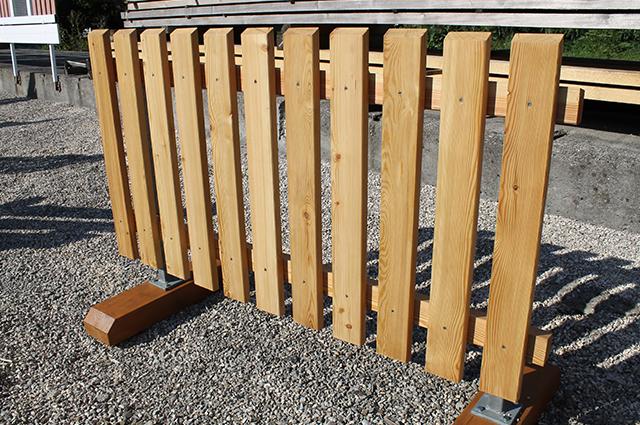 Zaun balkonsysteme - Holzzaun modern ...
